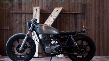 Yamaha SR 400 by Recycle Motorcycle