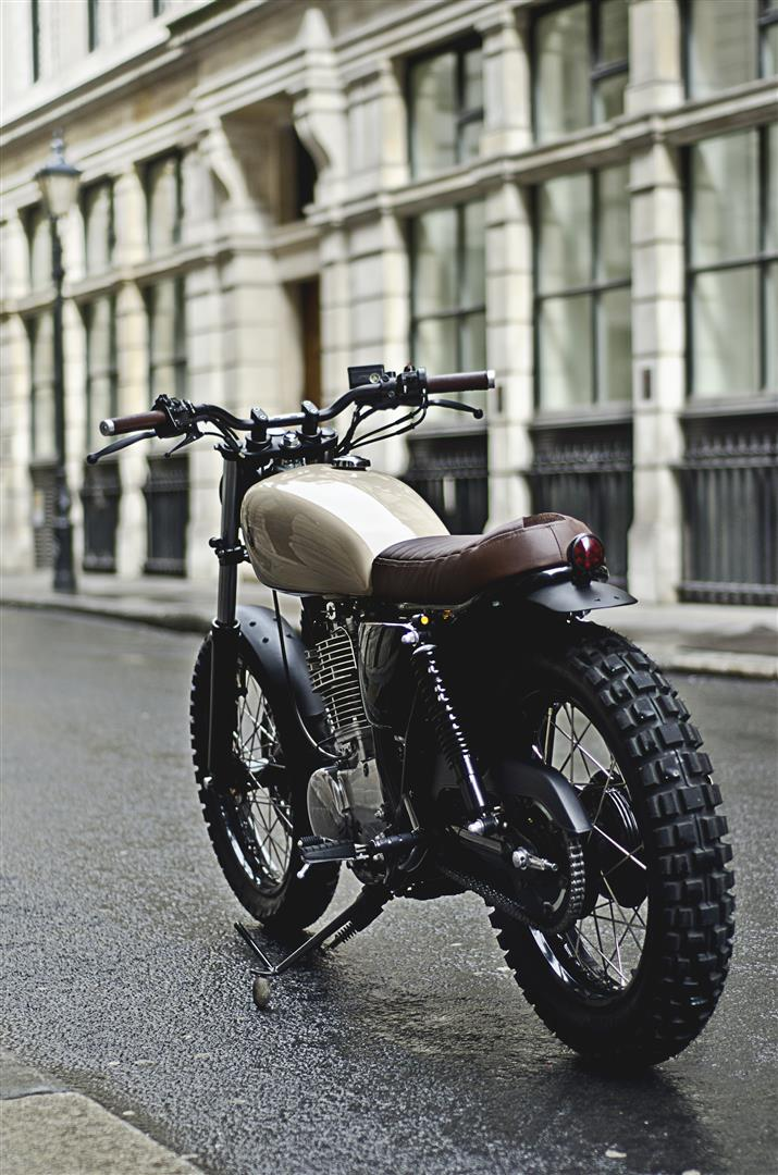 Yamaha sr 400 type 7 by auto fabrica rust and glory for Yamaha motorcycle types