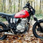 "Honda NX 650 ""Dirty Sandy"" by 4h10"