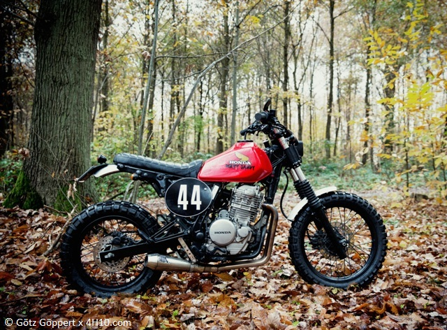 Honda NX 650 Dirty Sandy 2