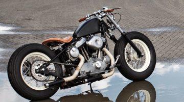 Harley Davidson Sportster 883 by Boneshaker Choppers