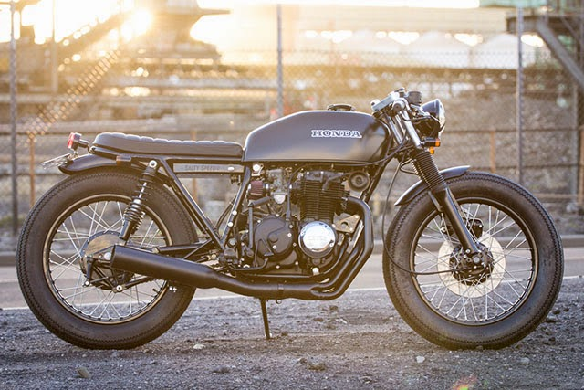 honda cb 400 f by salty speed rust and glory. Black Bedroom Furniture Sets. Home Design Ideas
