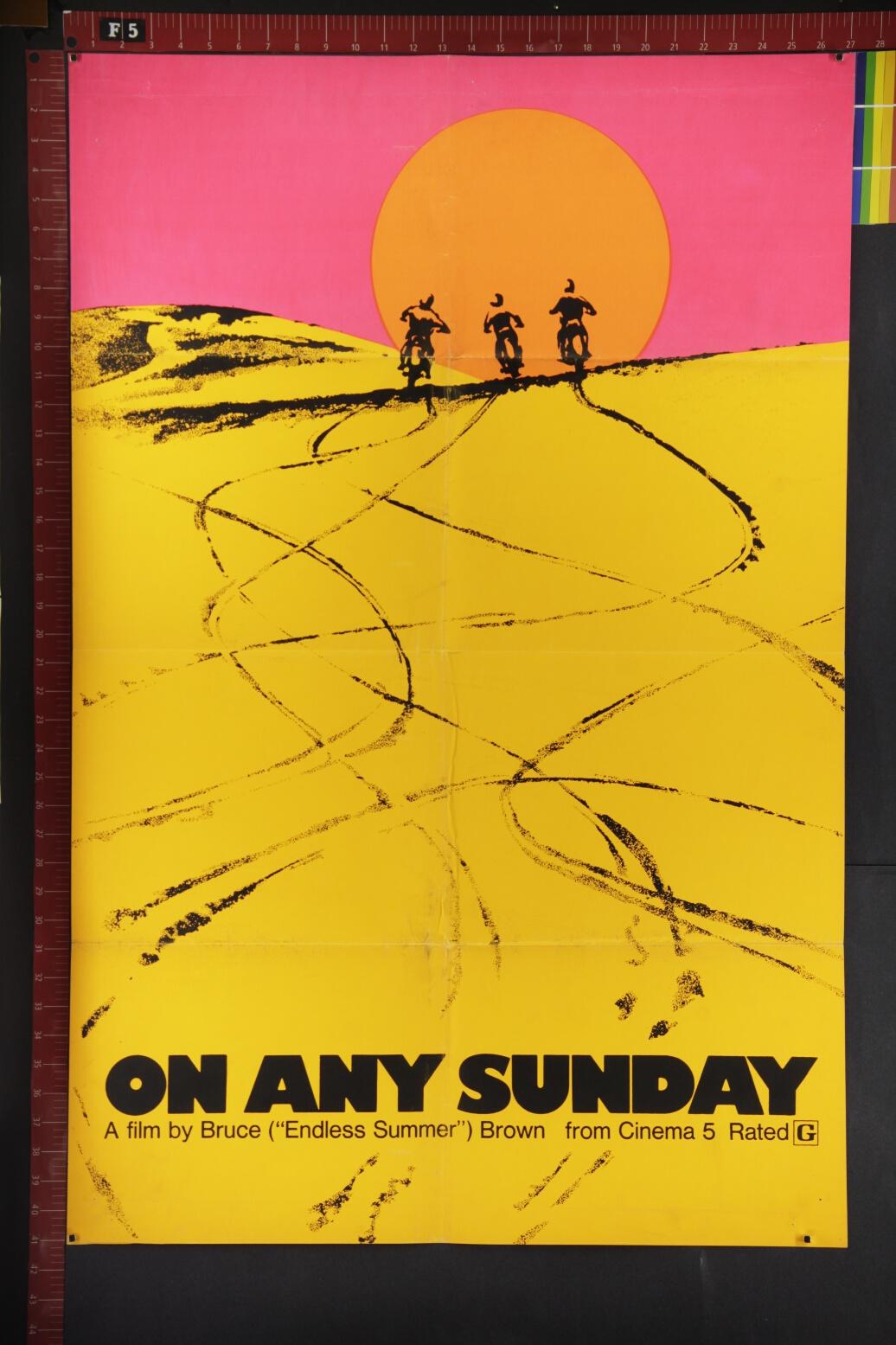 on-any-sunday-arthouse-documentary-sports-rare-original-movie-poster