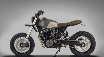 "Honda FMX 650 ""Muxima"" by Ton-Up Garage"