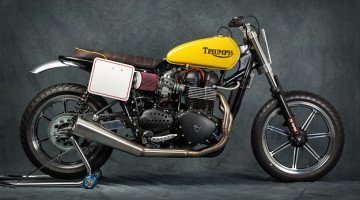 "Triumph Bonneville ""Shorty"" by Mr. Martini"