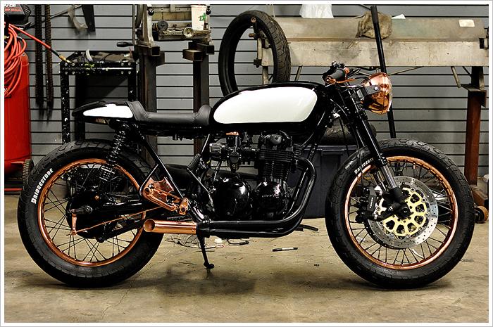 Honda CB 550 Patina 1