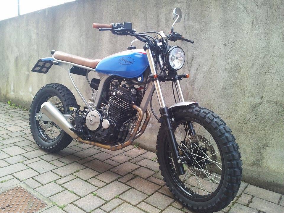 Honda scrambler by samy 39 s garage in vendita up for sale rust and glory motorcycle grace - Tavola da surf con motore ...