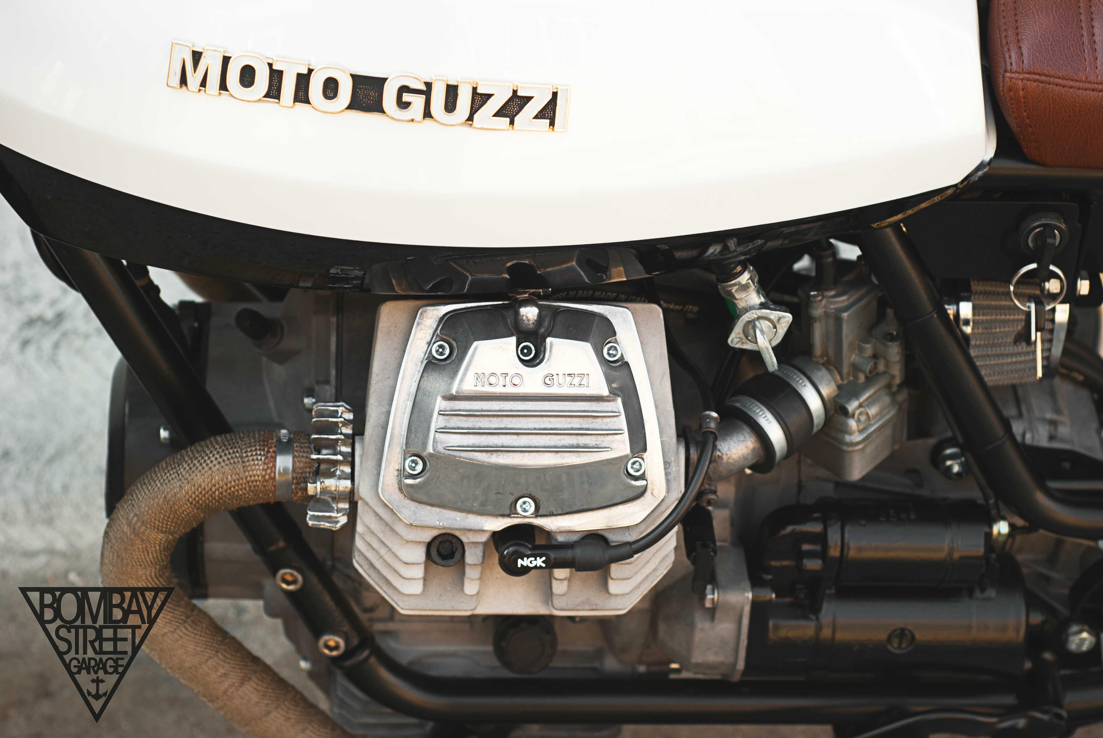 Moto Guzzi V35 Bombay Garage 6