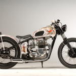 "Triumph Tiger ""Boy Racer"" (1971) by Grease Monkey"