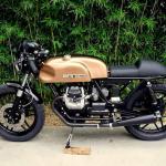 "Moto Guzzi V35 ""Paina 350"" by Retro Garage"