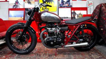Kawasaki W650 by Blitz Motorcycles