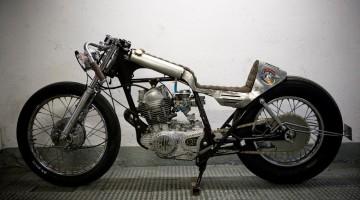 """Yamaha SR 250 """"Winning loser"""" by El Solitario"""
