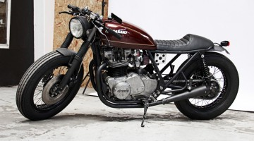 Kawasaki Z750 by Wrenchmonkees