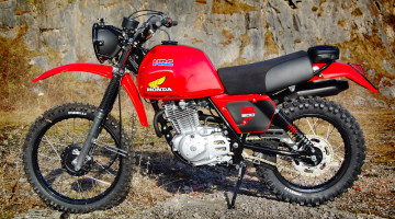 "Honda XR 500 ""Desert Racer"" by Andrew Backtracker"