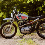 Yamaha XS 650 Scrambler by Kevin McAllister