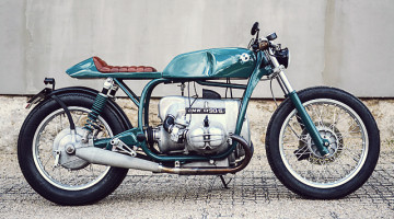 "BMW R 90/6 ""Frau Türkisblau"" by Custom Culture Co."