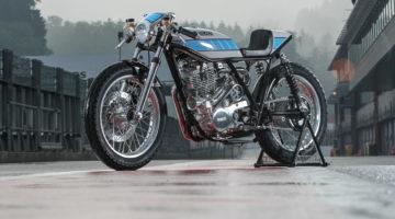 Yamaha SR 400 Sovralimentata by Krugger