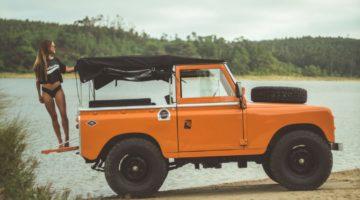 Land Rover Series IIA: la scrambler 4×4