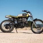Yamaha XT550 Tanuki by Rice Eaters Garage.