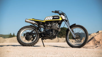 Yamaha XT550 Tanuki by Rice Eaters Garage.