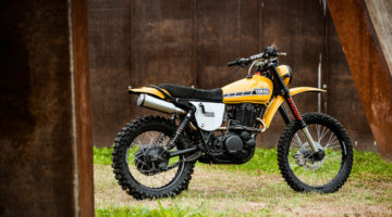 "Yamaha XT 500 ""Mauri"" by North-East Custom. L'enduro revival che ci aspettiamo di serie"