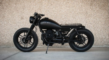 Moto Guzzi #Bombay6. La Black Moon di San Benedetto del Tronto