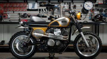 Yamaha Yard Built: la SCR950 secondo Jeff Palhegyi Designs