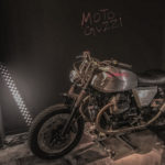 Moto Guzzi V7 Tomoto by Tom Dixon e Venier Motorcycles