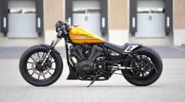 Yamaha XV950 R Dragger: la Intermot custom bike di Marcus Walz