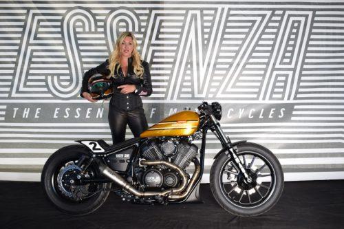 Das neue INTERMOT Custom Bike made by Marcus Walz: Yamaha XV 950 R Dragger