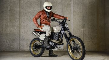 "Honda NX 650 ""Zaku"" by Rice Eaters Garage"
