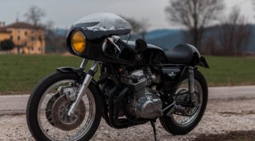 Honda CB 750 Four Cafe Racer by Punto Moto Vicenza
