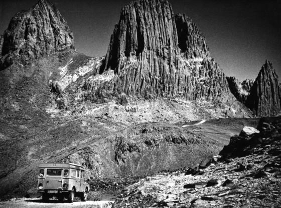 Africa. Algerian Sahara. 1957. The Hoggar Mountains .