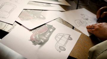 South Garage trasforma la Citroen 2CV in moto special