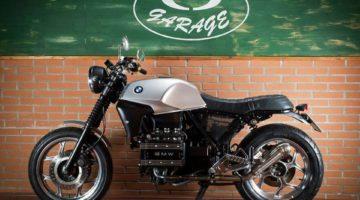 "BMW K 75 ""Il Pettinato"" by CD Garage"