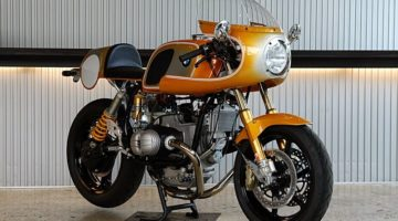 "BMW R 100 RS ""Orange Pearl"" by Ritmo Sereno"