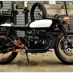 "Honda CB 550 F ""Patina"" by Alex Martino"