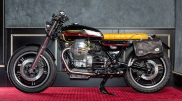 "Moto Guzzi ""Champion"" by Mr. Martini"