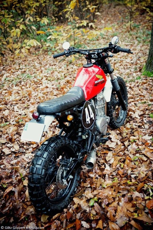 Honda NX 650 Dirty Sandy 3