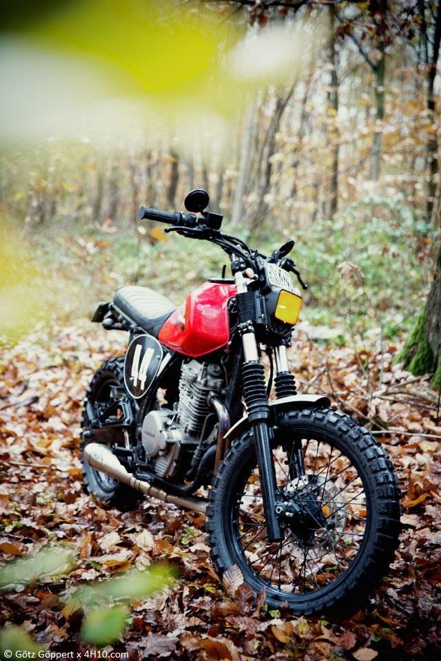Honda NX 650 Dirty Sandy 4