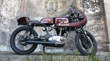 "Ducati 250 Mark 3 ""Minerva"" by Ruote Rugginose"