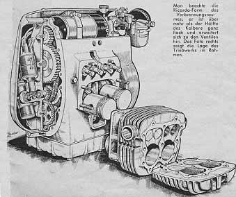 Motor-Schnittmodell-K-800