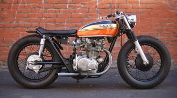 "Honda CB 450 ""Rusty"" by Holiday Customs"