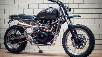 "Triumph Scrambler ""Il Sardo"" by Kingston Custom"