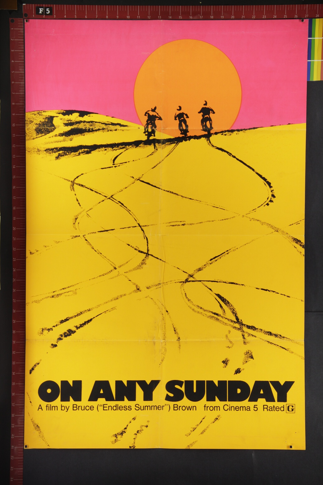 on-any-sunday-arthouse-documentary-sports-rare-original-movie-poster