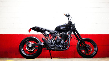 "Suzuki DR 650 ""The Arsenale"" by Blitz Motorcycles"