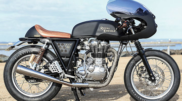 "Royal Enfield Continental ""Dirty Girl"" by Rewind MC"
