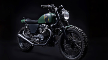 "Moto Guzzi V7 ""Tractor 03"" by Venier Customs"