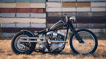 Harley Davidson Panhead (1959) bobber