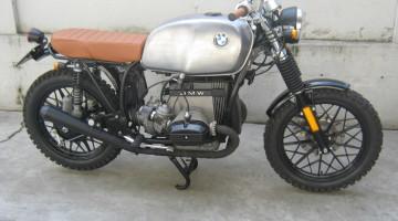 """BMW R 65 """"Scramblìn"""" by Punto Moto Vicenza"""